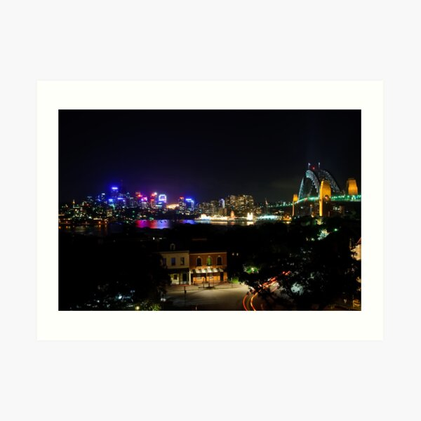 View From Observatory Hill Art Print