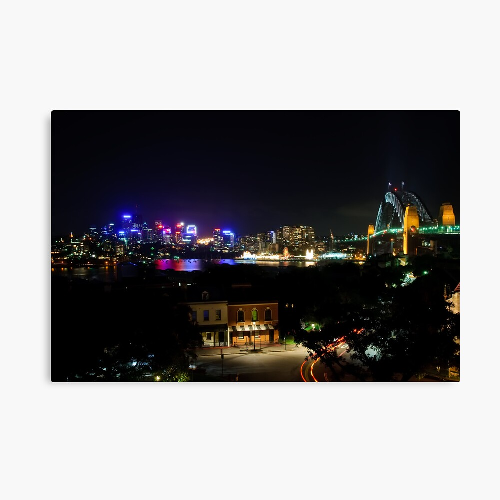 View From Observatory Hill Canvas Print