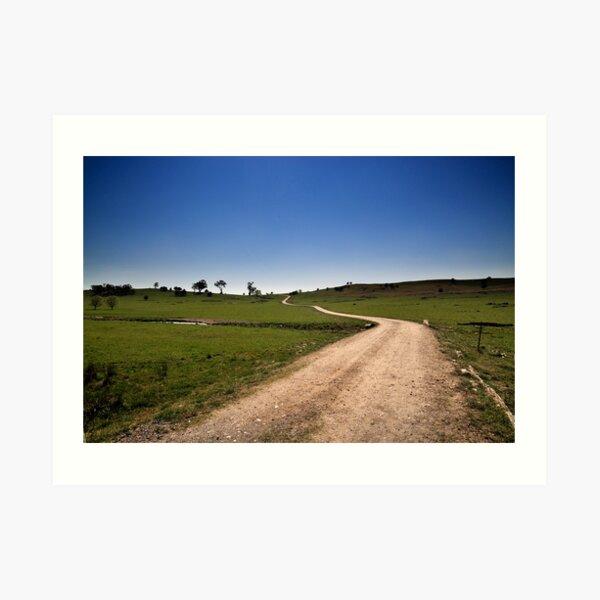 The Long & Winding Road Art Print