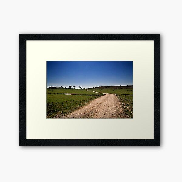 The Long & Winding Road Framed Art Print