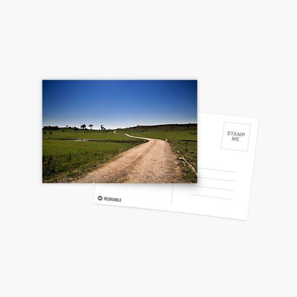 The Long & Winding Road Postcard