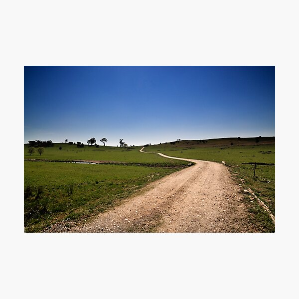 The Long & Winding Road Photographic Print