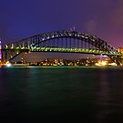 Sydney Harbour Bridge by Jason Hilsdon