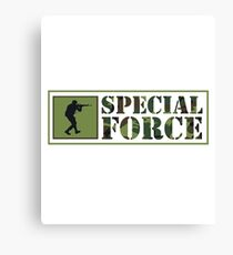 Special Forces Special Forces Elite Military Soldier Bundeswehr Camouflage Gift Canvas Print
