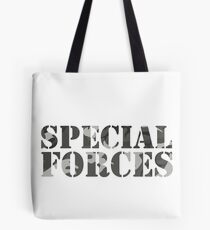 Special Forces Special Forces Elite Military Soldier Bundeswehr Camouflage Gift Tote Bag