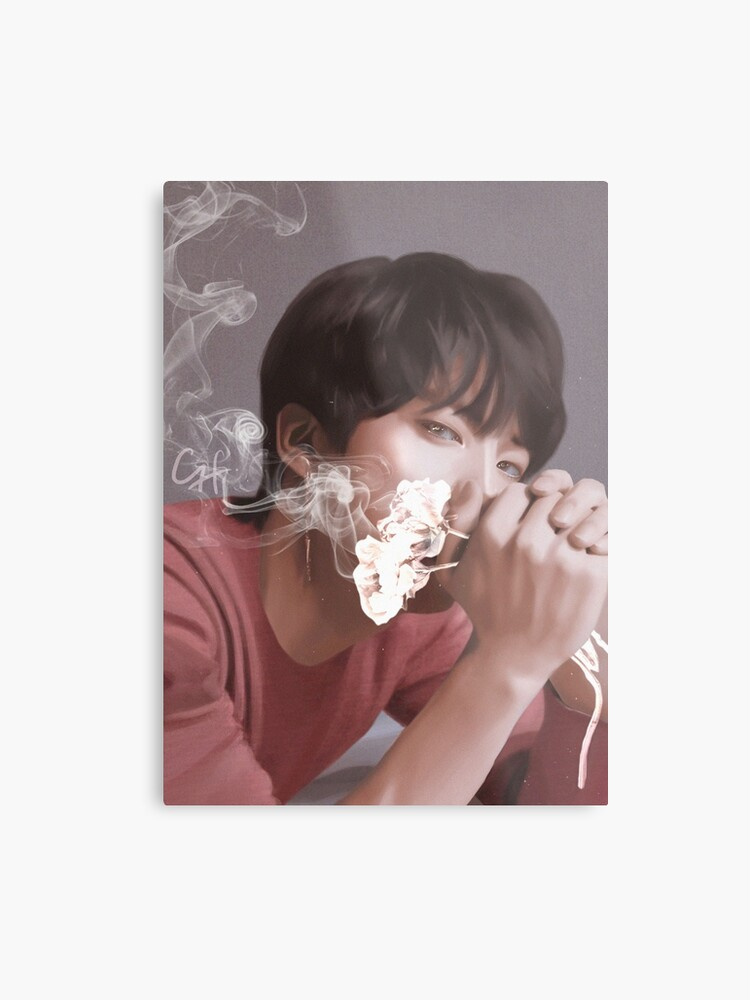 Love Yourself Tear O Version Bts Jin Metal Print