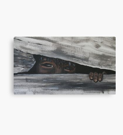My Hiding Place Canvas Print