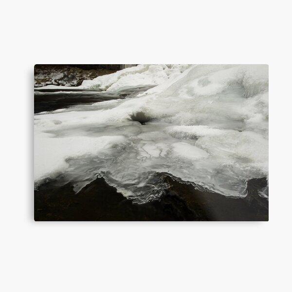 Ice Shelf Metal Print