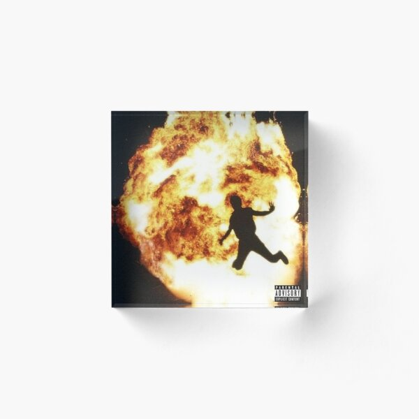 Not All Heroes Wear Capes Metro Boomin Acrylic Block
