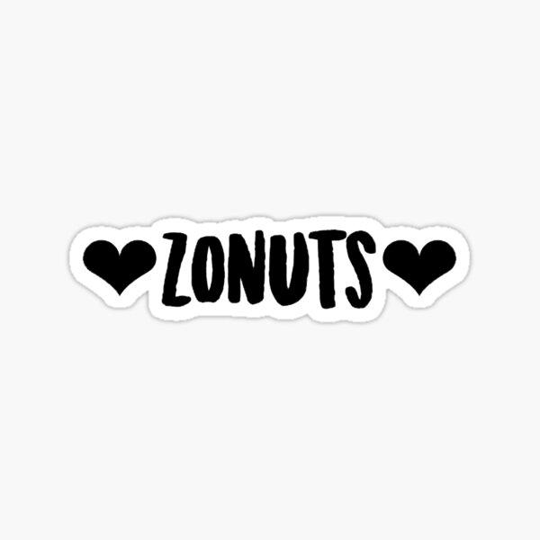 Zonuts  Sticker