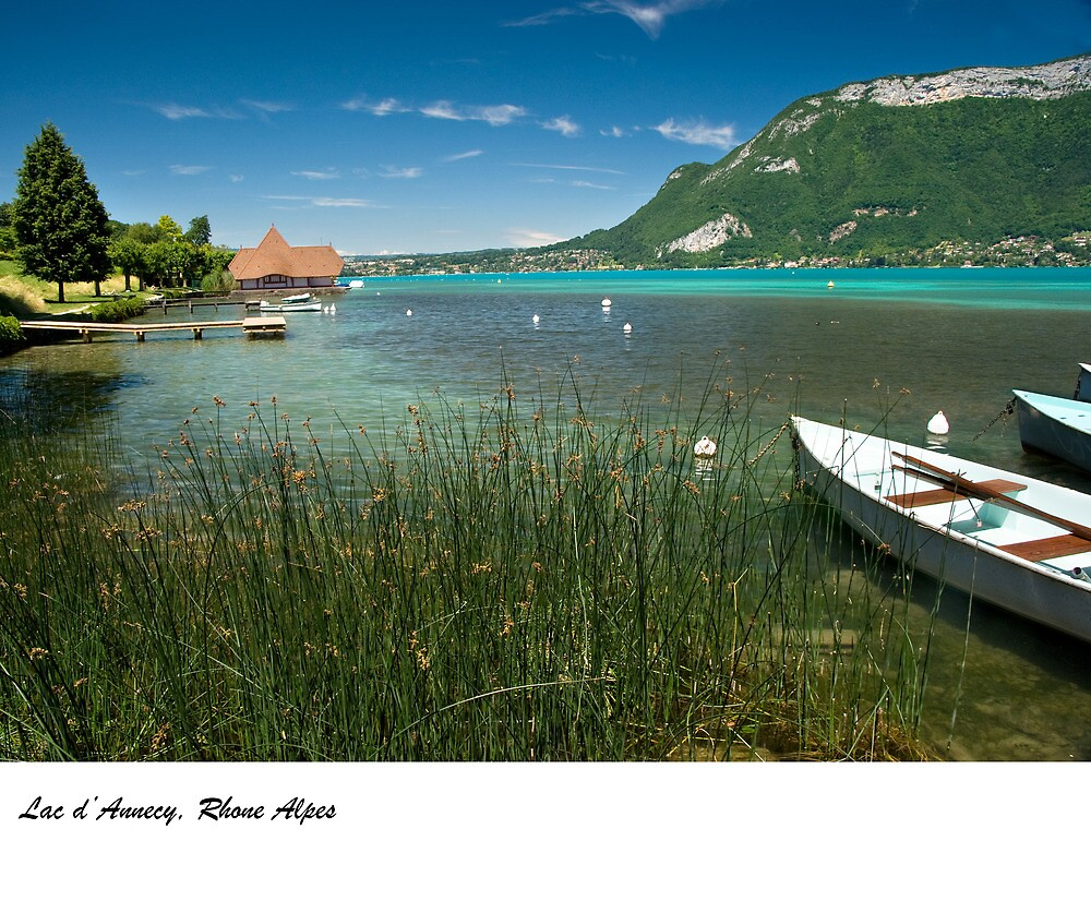 Lac d'Annecy, Rhone Alpes, France by macondo