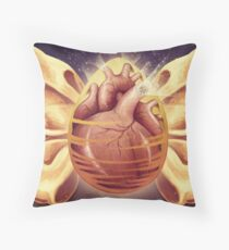 Where Precious Life Begins Throw Pillow