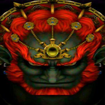 evil king ganon by spirit82