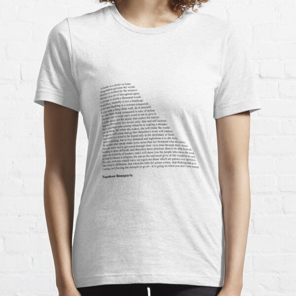 napoleon bonaparte zitate geschenke & merchandise | redbubble
