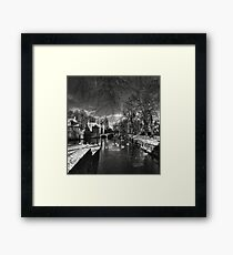 Greetings from the old world Framed Print