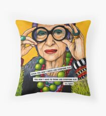 Iris Apfel Floor Pillow