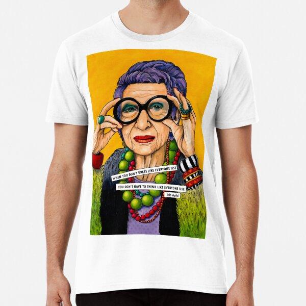 Iris Apfel Premium T-Shirt