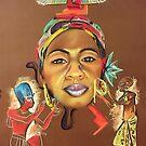 Krowned Goddess by bold-n-art-llc