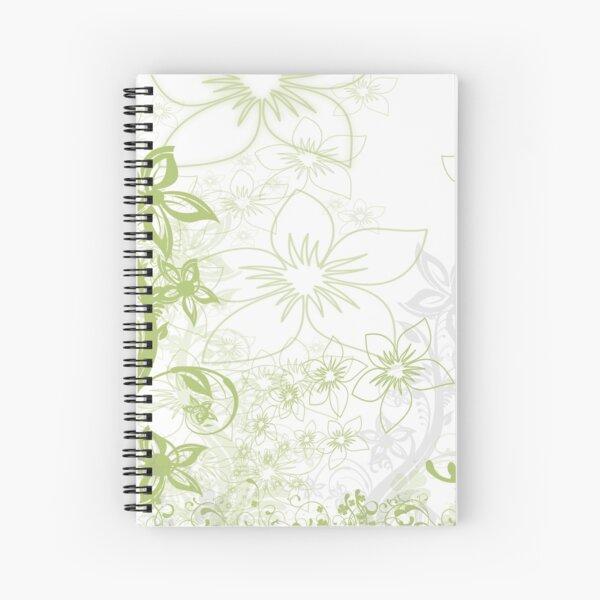 Blumen-Design Spiralblock