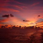 Deep Pink Sunset by GedTKirk