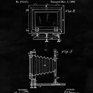 Vintage Camera Blueprint Drawing Sheet Two by Glimmersmith
