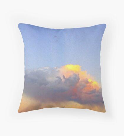 Rain Cloud Over Fremantle  Throw Pillow