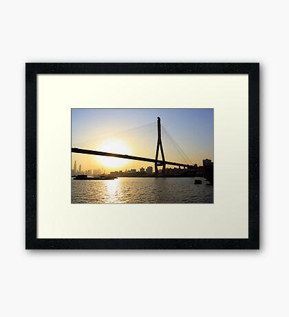 Cityscape Series - River Dreaming  Framed Print