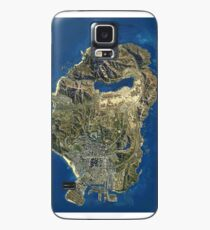 GTA V map Case/Skin for Samsung Galaxy