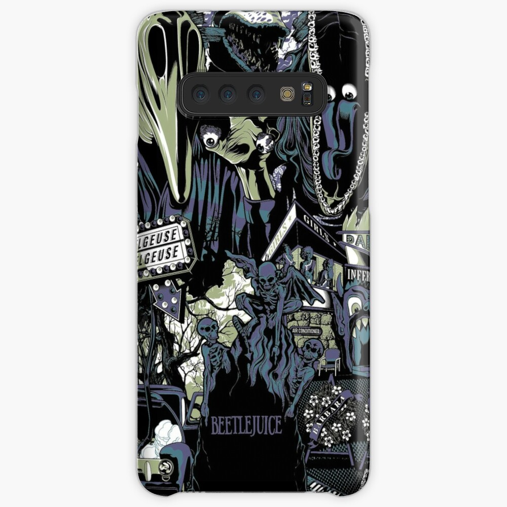 Beetlejuice - Adam & Barbara Case & Skin for Samsung Galaxy