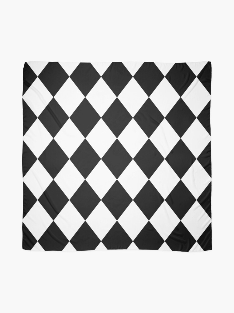 Alternate view of Harlequin - tiles pattern - Keep Your Shirt Alive! Scarf