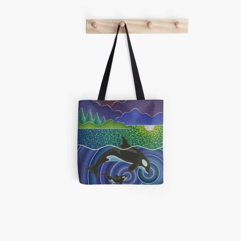 Orca Sonic Liebe Tote Bag