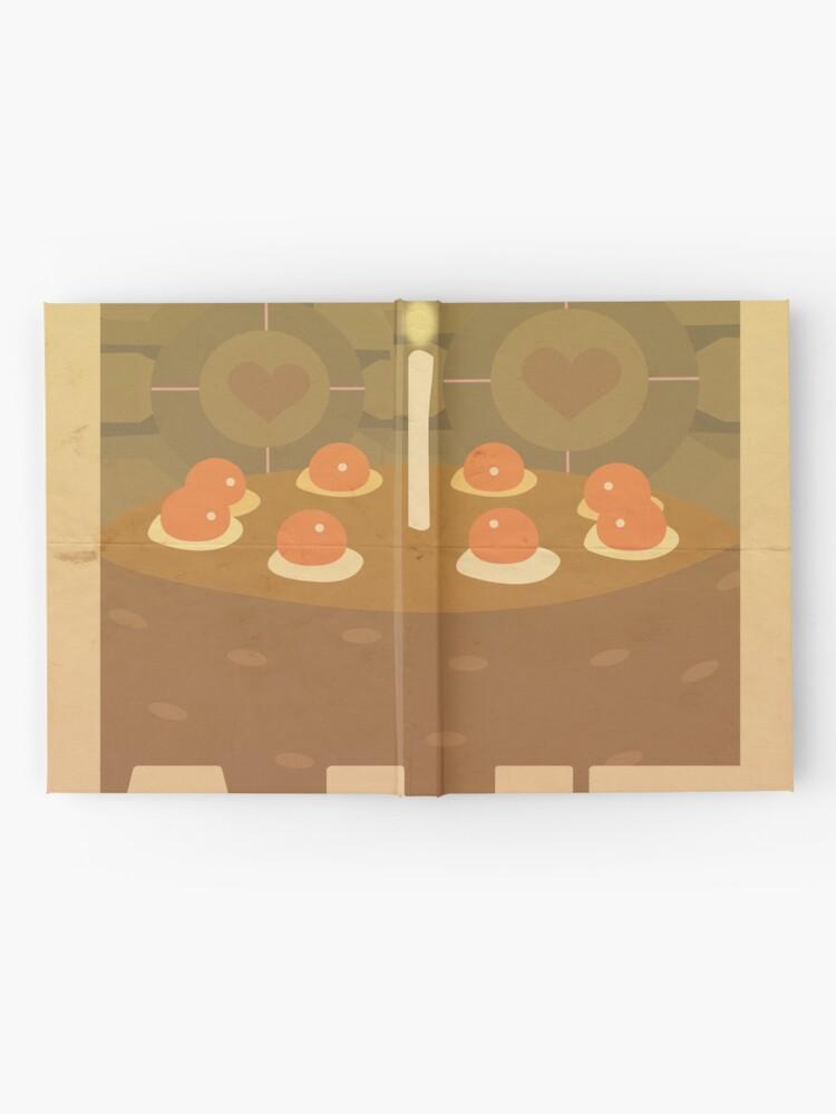Alternative Ansicht von Portal Propaganda Poster - Kuchen Notizbuch