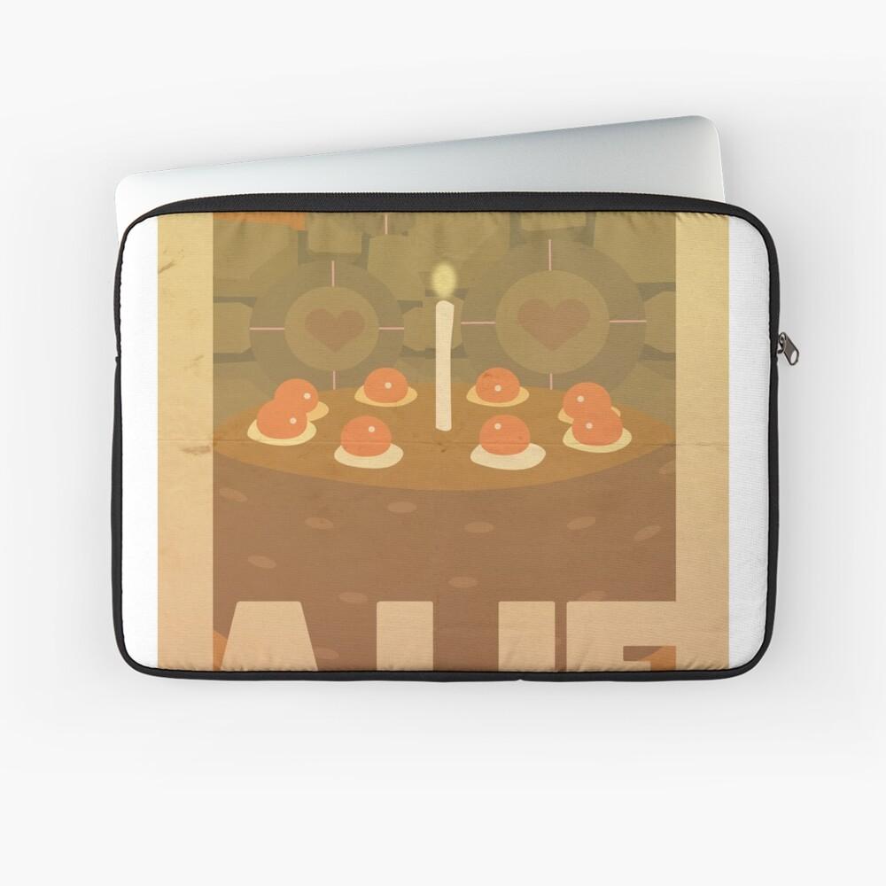 Portal Propaganda Poster - Kuchen Laptoptasche