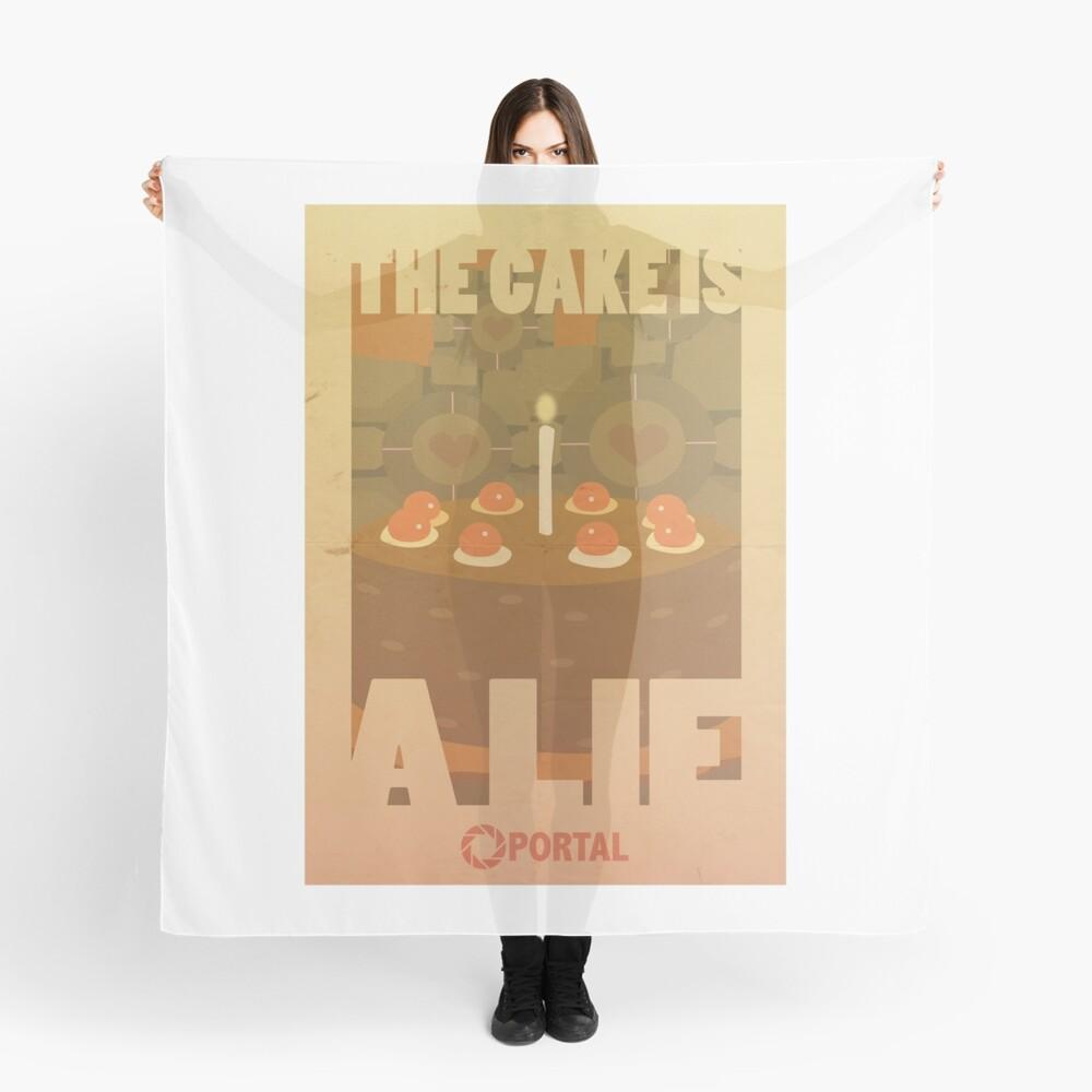Portal Propaganda Poster - Kuchen Tuch