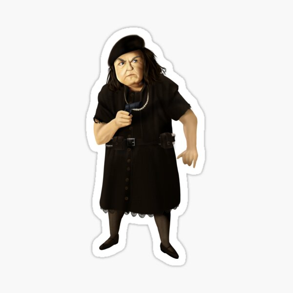 Mama Fratelli of the Goonies Sticker