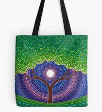 Happy Tree of Life Tote Bag