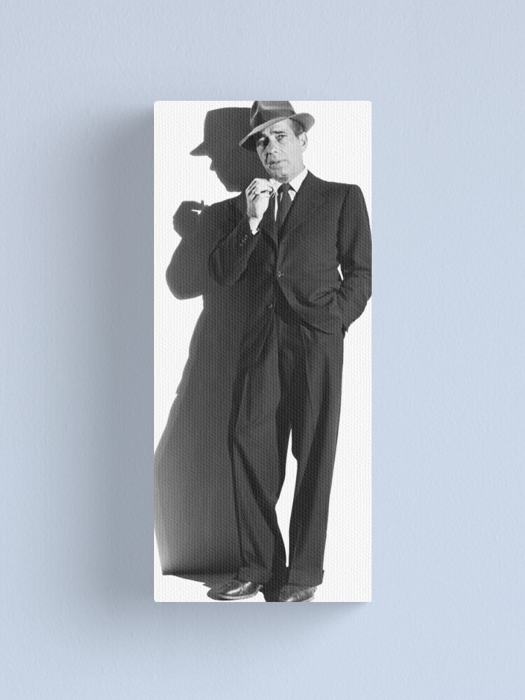 Alternate view of Bogart Canvas Print