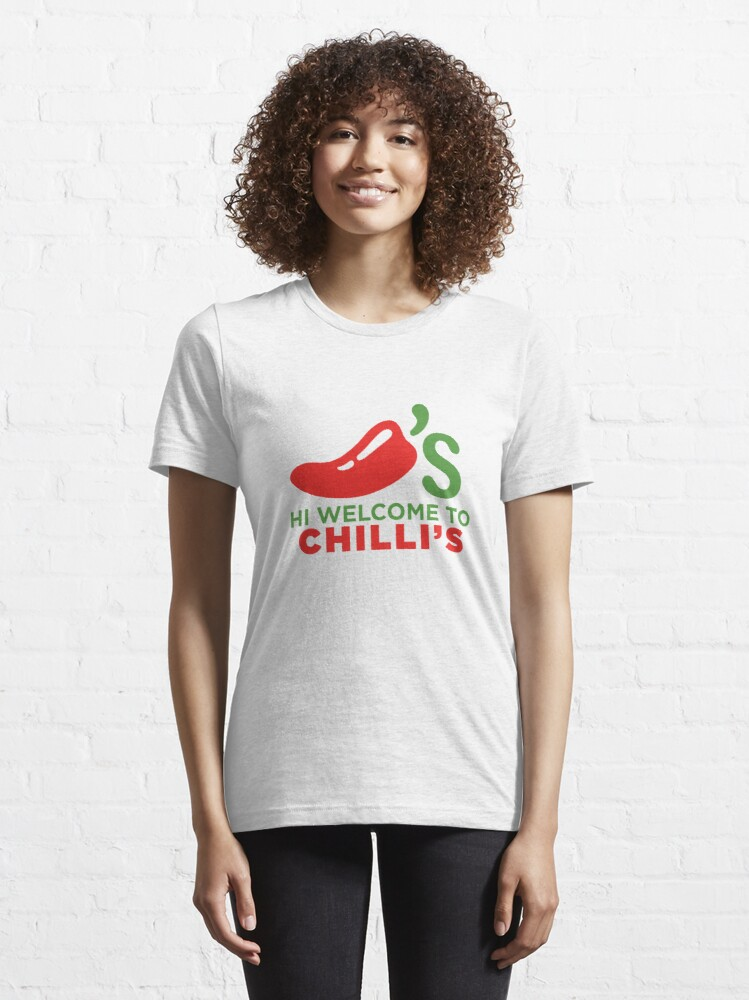 Alternate view of Hi Welcome to Chili's Essential T-Shirt