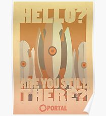 Portal Propaganda Poster - Turrets Poster