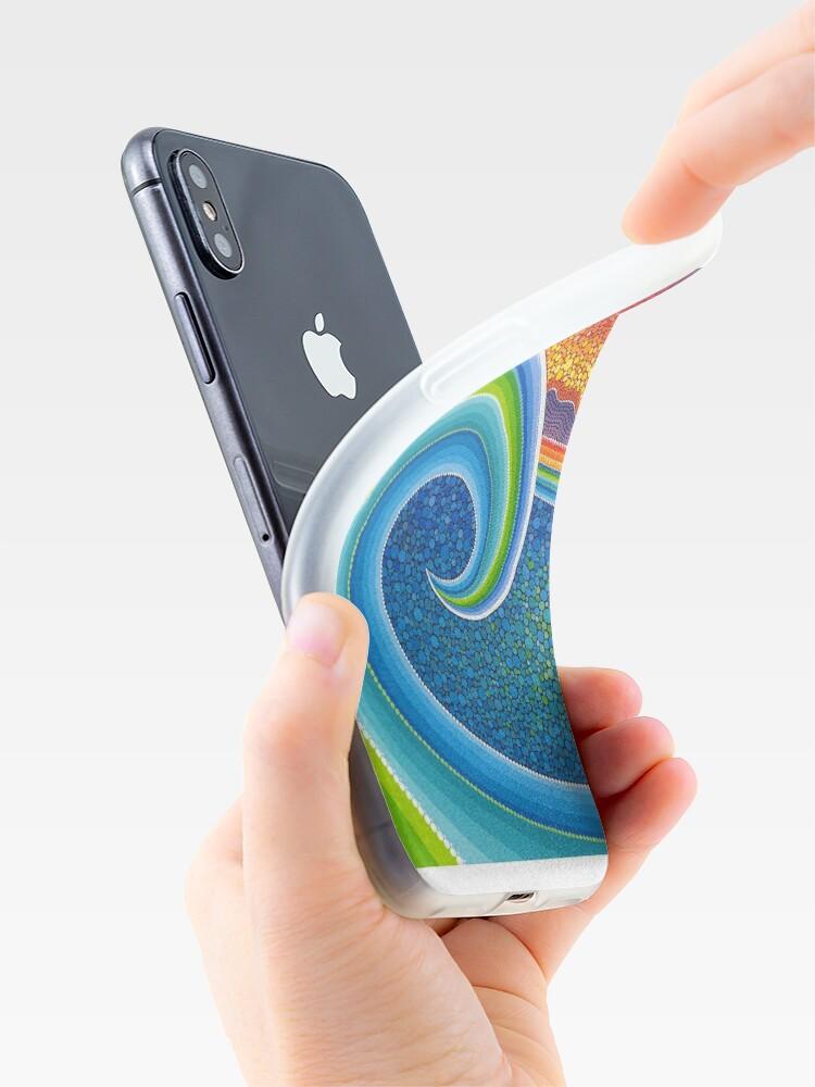 Vista alternativa de Funda y vinilo para iPhone Gran ola