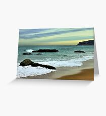 freezing afternoon Greeting Card