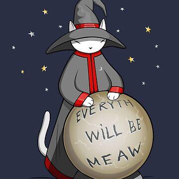 Magic Cat by runcatrun