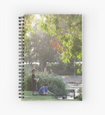 """Picnic  with nature-Baldwin swamp in Bundaberg"" Spiral Notebook"