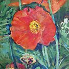Red Poppies by John Fish