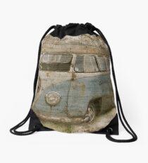 Split screen  Drawstring Bag