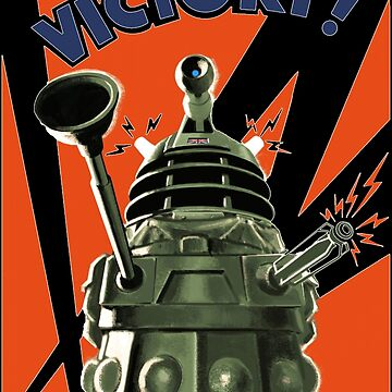 Dalek Victory by impossiblefunky