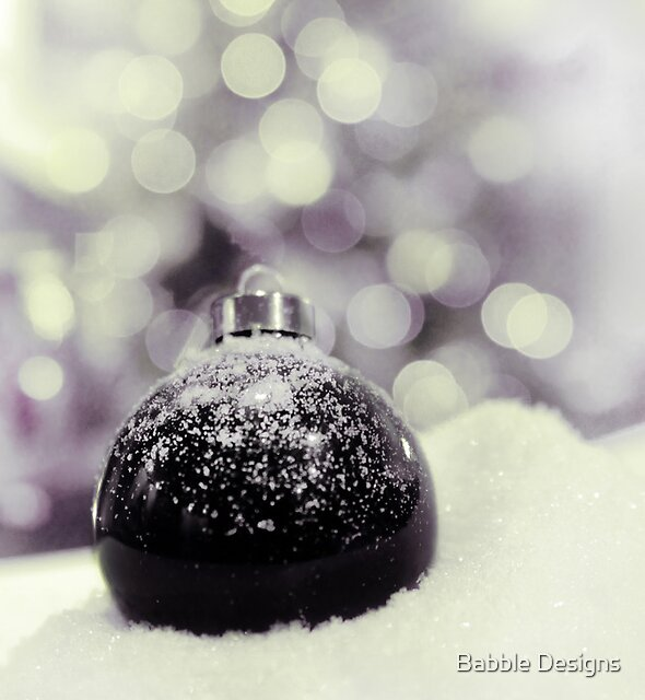dreaming of a white Christmas by Babble Designs