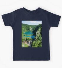 an incredible Croatia landscape Kids Tee