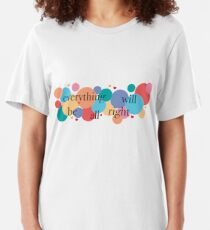 Everything Will Be All Right / Falsettos Dots Slim Fit T-Shirt