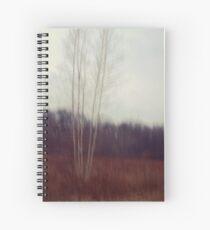 Lone Birch  Spiral Notebook